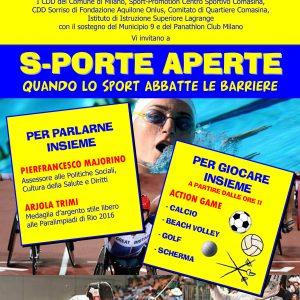 S-PORTE APERTE – Quando lo Sport abbatte le barriere