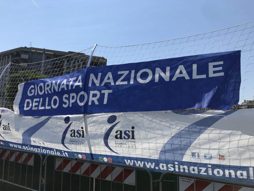 """GIORNATA NAZIONALE DELLO SPORT: MILANO SI TINGE DI """"ASI"""""""
