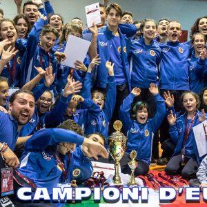 LA NAZIONALE ITALIANA JUNIOR DI VIET VO DAO E' CAMPIONE D'EUROPA