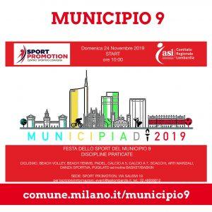MUNICIPIADI DEL MUNICIPIO 9