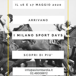 MILANO SPORT DAYS 2020