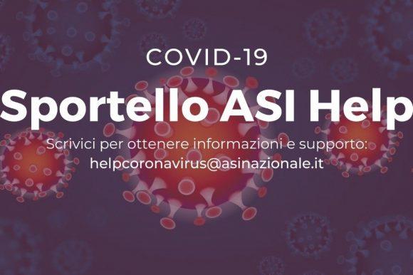 """SPORTELLO DI CONSULENZA  """"HELP CORONAVIRUS"""""""