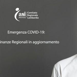 EMERGENZA CORONAVIRUS: ORDINANZE REGIONALI IN AGGIORNAMENTO