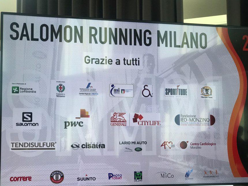 SALOMON RUNNING MILANO 2021: PRESENTATO IL PROGRAMMA UFFICIALE