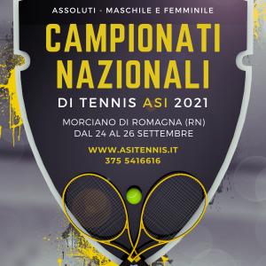 CHI SARANNO I PROSSIMI CAMPIONI ITALIANI ASI DI TENNIS?