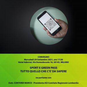 SPORT E GREEN PASS: TUTTO QUELLO CHE C'E' DA SAPERE